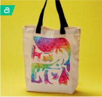 Diversity Animals Tote Bag - Infusible Ink Project