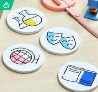 School Subject    Coasters