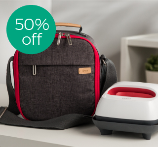 save 50% on easypress totes