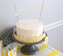 Baby Shower Bee Hive Cake Plate - Kim Byers