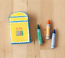 Elmo crayon box