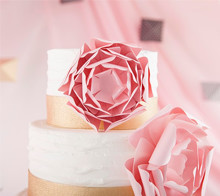 Layered Peonies for Cake