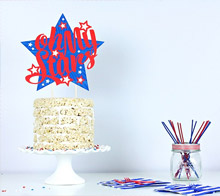 Oh My Stars Cake Topper – Kim Byers