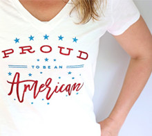 Proud To Be An American Tee – Kim Byers