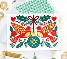 Joyful Birds Card Envelope