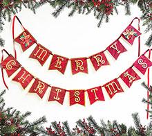 Vintage Christmas Bunting