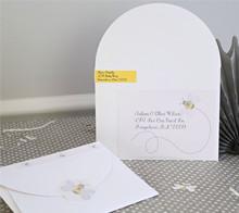 Baby Shower Bee Envelope/Address Label - Kim Byers
