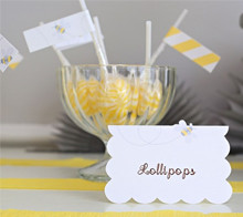 Baby Shower Bee Placecard - Kim Byers