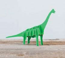 3D Brachiosaurus Autodesk 123D