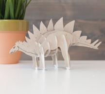 3D Stegosaurus Autodesk 123D
