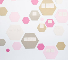 Best Day Ever Hexagon Backdrop