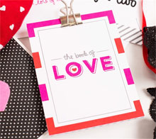 Book of Love Coupon Book