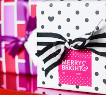 Bright and Cheerful Gift Labels