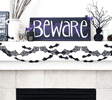 Bat Garland Decor
