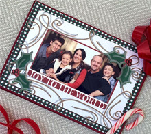 DIY Photo Christmas Card