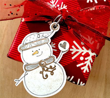 Little Snowman Gift Tag