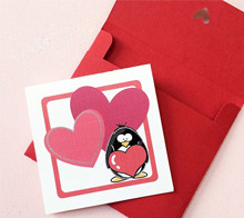 Penguin Love Mini Card