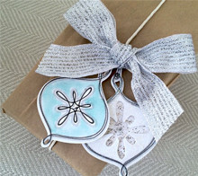 Pretty Ornament Gift Tags