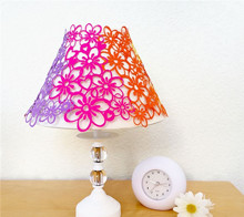 Rainbow Flower Lampshade