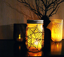 Spider Web Luminary