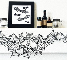 Spiderweb Garland