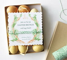Carrot Easter Brunch Invitation – Kori Clark