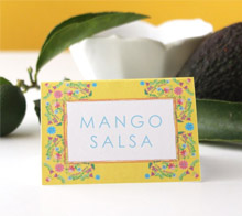 Cinco De Mayo Tent Cards