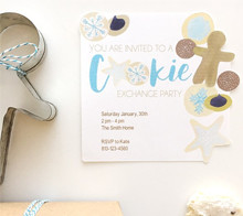 Cookie Exchange Party Invites - Kori Clark