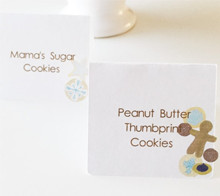 Cookie Exchange Tent Cards - Kori Clark