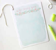 Floral Baby Guestbook