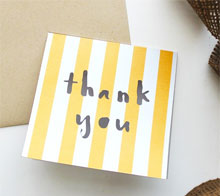 Thank You Cut Out Card - Kori Clark