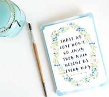 Those We Love Sympathy Card - Kori Clark