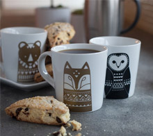 Scandinavian Animal Mugs