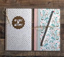 Washi Covered Notebooks