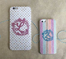 Wild Flower Monogram Phone Case