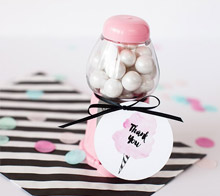 Cotton Candy Party Favor Tags