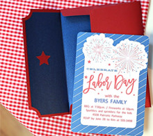 Labor Day BBQ Invitation & RSVP – Kim Byers
