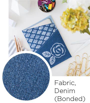 Fabric Denim Bonded