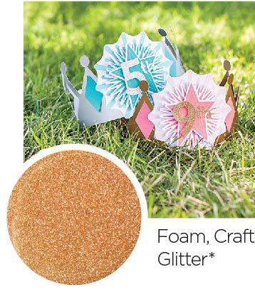 Foam Craft Glitter