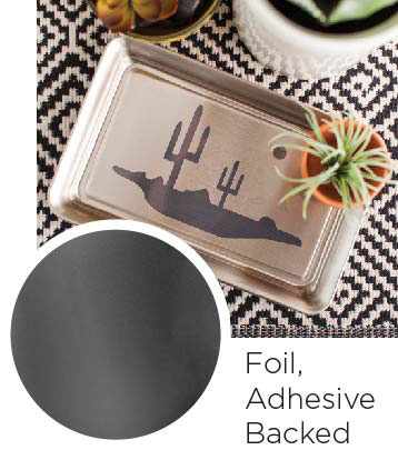Foil Adhesive Backed