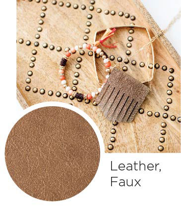 Leather Faux
