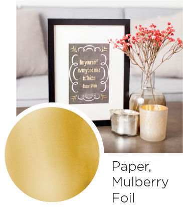 Paper Mulberry Foil