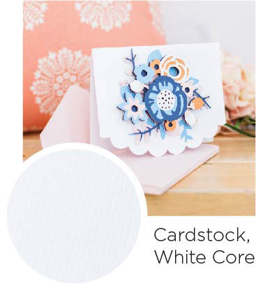 Cardstock White Core