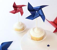 Patriotic Pinwheels – Kim Byers