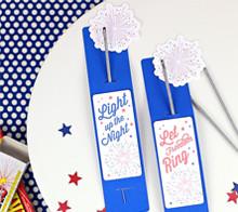 Patriotic Sparkler Sleeve – Kim Byers