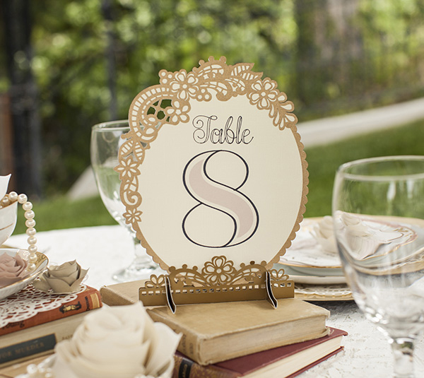 Wedding cricut for Table decor international inc