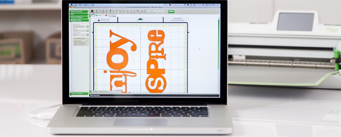 Cricut craft room design software download