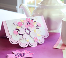 Watercolor Floral Card - Kim Byers