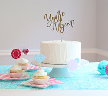 You're A Gem Cake Topper - Kim Byers