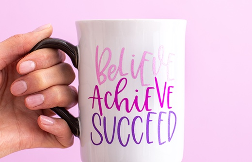 Believe Achieve Succeed Mug
